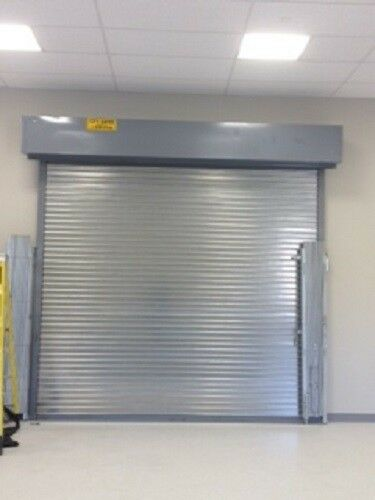 Fire Rated Roll Down Door With Chain Hoist System 3 Hour