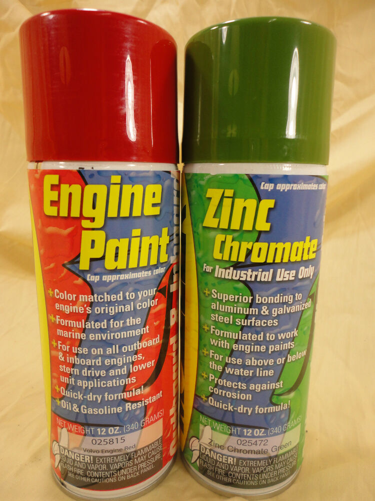Zinc chromate bottom paint