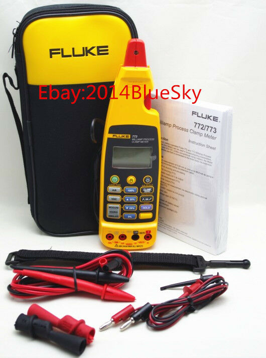 Clamp Meter Brands : Fluke milliamp process clamp meter with soft case
