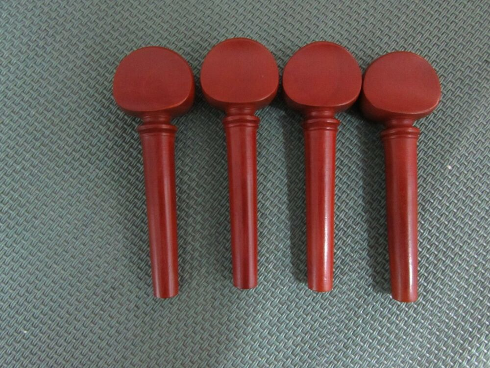 Violin pegs set boxwood french style size fiddle
