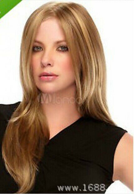 Hot style fashion wig new charm women s long brown blonde straight