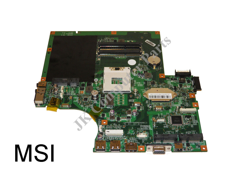 Msi A6000 A6200 Intel Laptop Motherboard S989 Ms