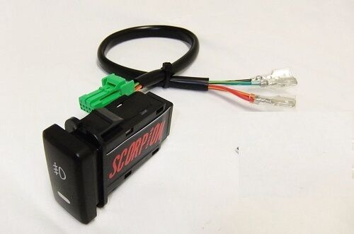 toyota tacoma fog light switch harness adapter for a kc. Black Bedroom Furniture Sets. Home Design Ideas
