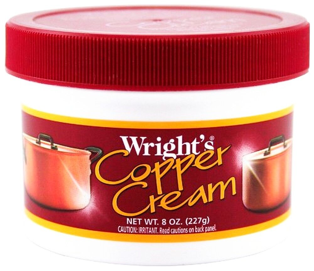wright 39 s copper cream paste cleaner clean polish cookware jewelry wrights 040 ebay. Black Bedroom Furniture Sets. Home Design Ideas