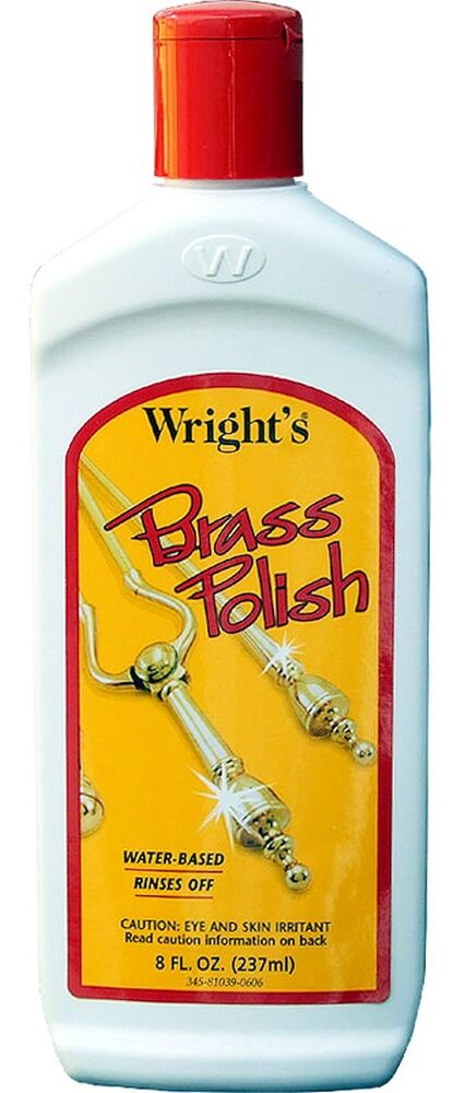 brass polish clean remove tarnish cleaner copper chrome pewter wright 39 s 045 ebay. Black Bedroom Furniture Sets. Home Design Ideas