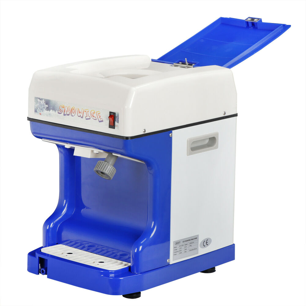Ice Shaver Machine Snow Cone Ice Crusher Maker Device