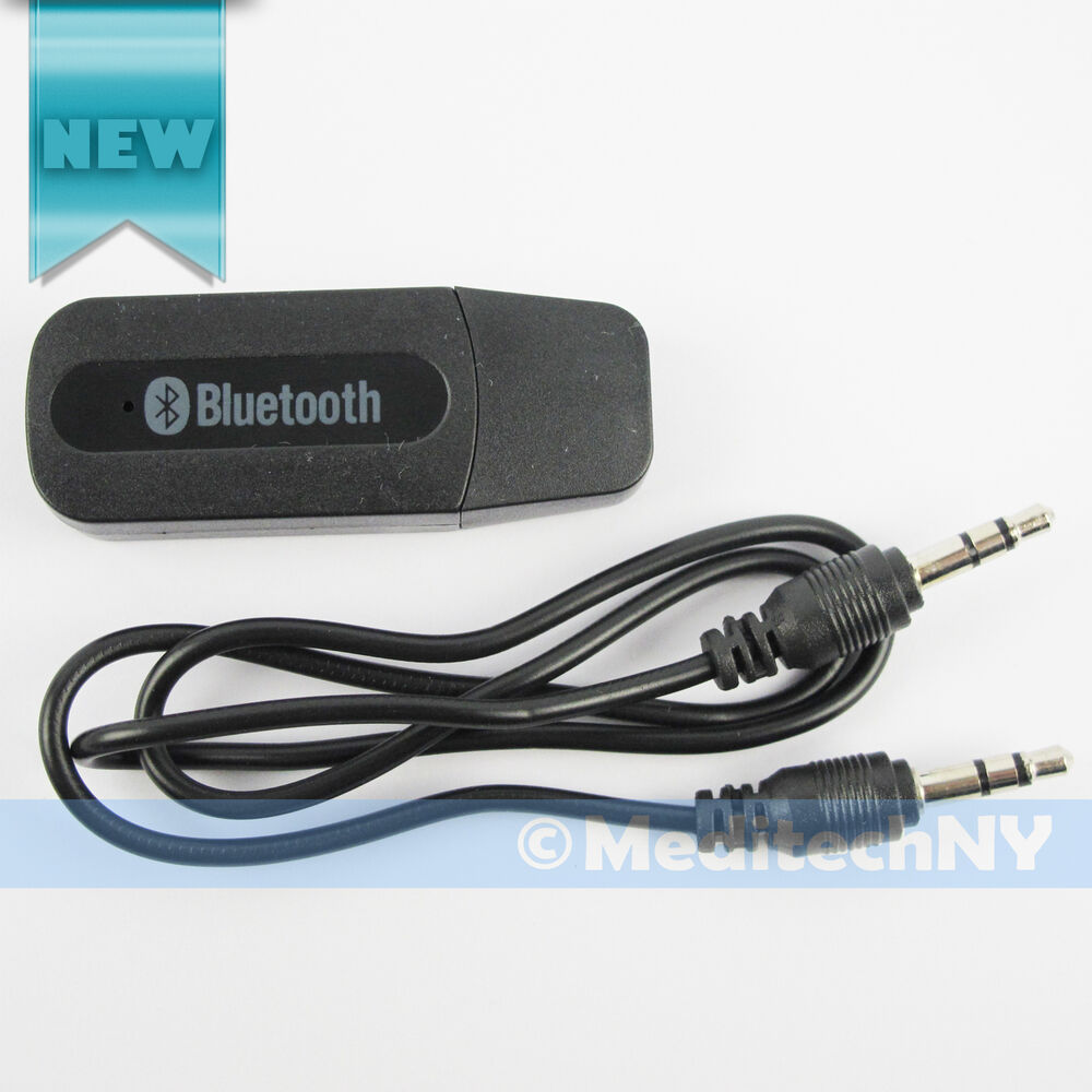 wireless usb bluetooth music audio receiver adapter dongle a2dp car a123 ebay. Black Bedroom Furniture Sets. Home Design Ideas