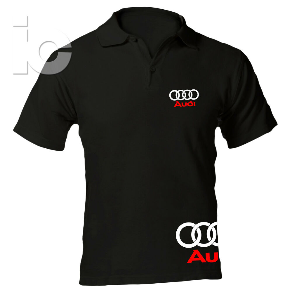 polo audi racing maglia tt a3 a4 a6 rs t shirt ebay. Black Bedroom Furniture Sets. Home Design Ideas