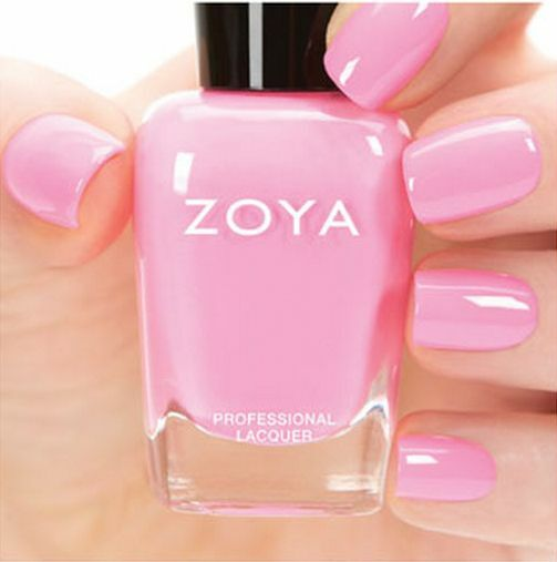 Zoya Zp733 Kitridge Bubblegum Pink Cream Nail Polish Tickled Collection New Ebay