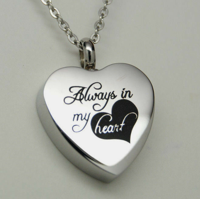 always in my heart cremation jewelry always heart urn