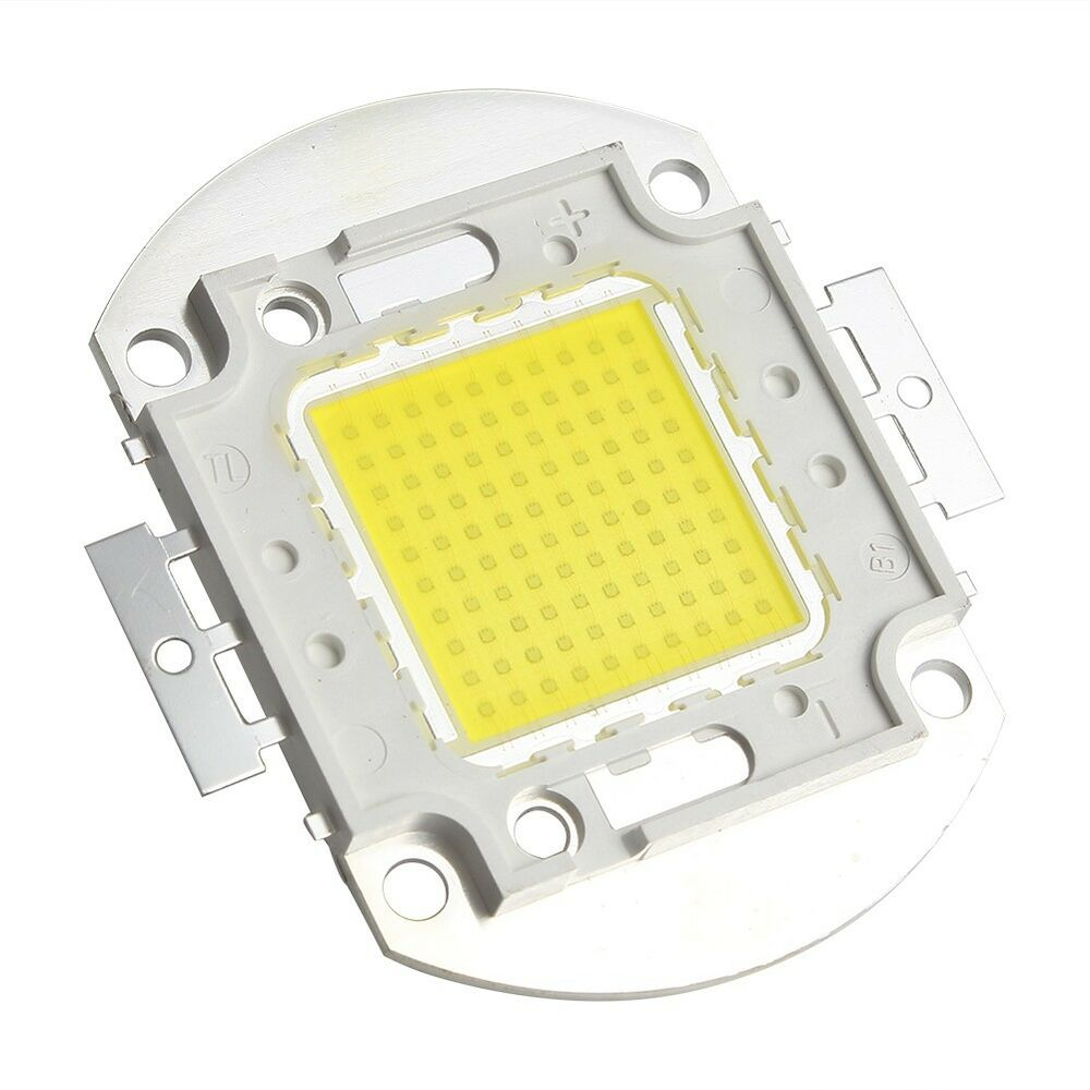 100w white high power led panel 9000lm 100 watt lamp light for Corrispondenza led watt