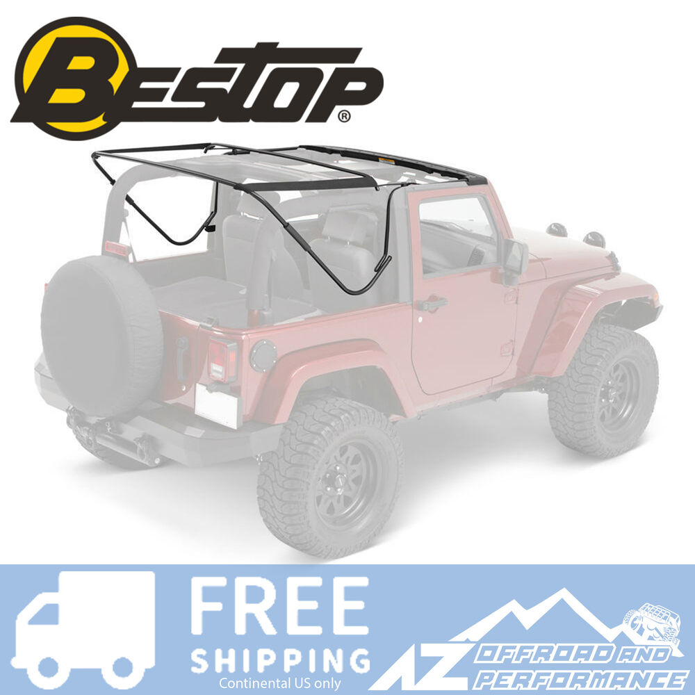 Bestop Factory Style Frame Bow Kit For 2007 2016 Jeep