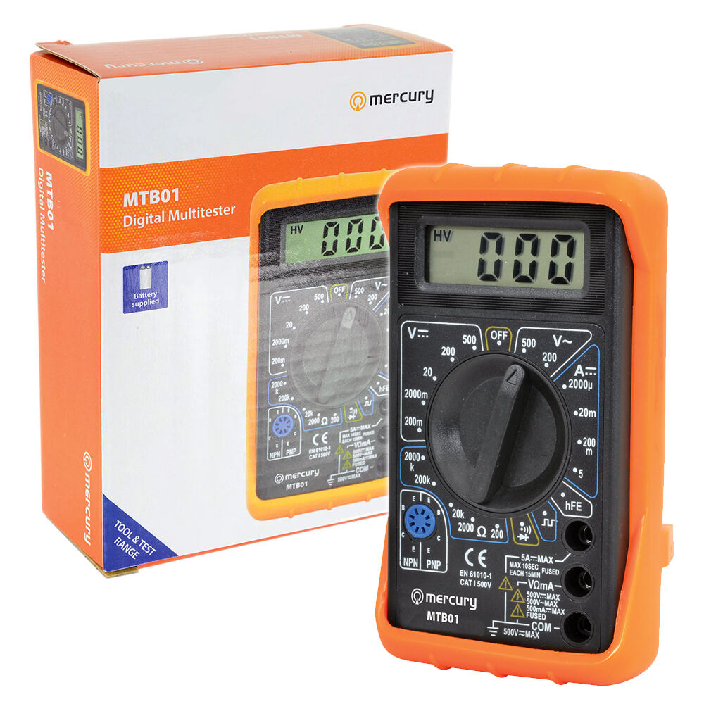 Check For Continuity Voltmeter : Digital multimeter circuit tester multi testing meter test