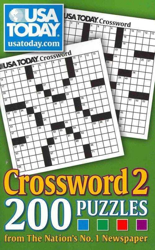 USA TODAY CROSSWORD 2 - USA TODAY (PAPERBACK) NEW 1449403131 | eBay