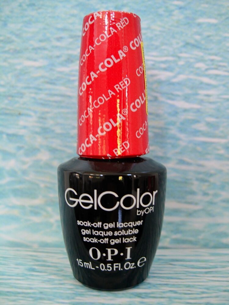 Opi Coca Cola Nail Polish Collection Partial