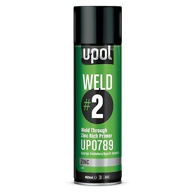 U-Pol Weld #2 - Weld Through Zinc Rich Primer (450 mL) UPOL UP0789