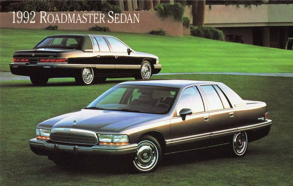 old print 1992 buick roadmaster sedan auto ad ebay. Cars Review. Best American Auto & Cars Review