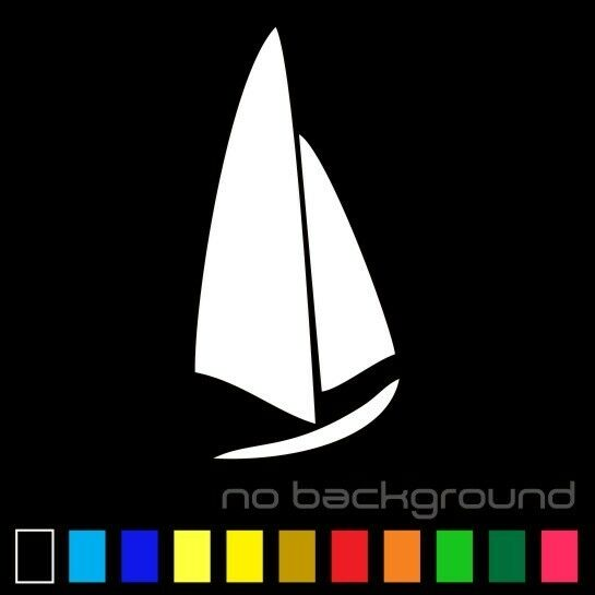 Sailboat Sticker Vinyl Decal Nautical Sailing Boat Yacht
