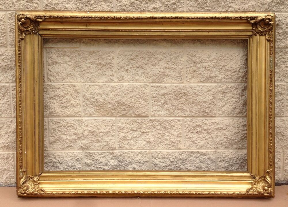 Hudson river school large cove gold leaf frame ebay for Large a frame