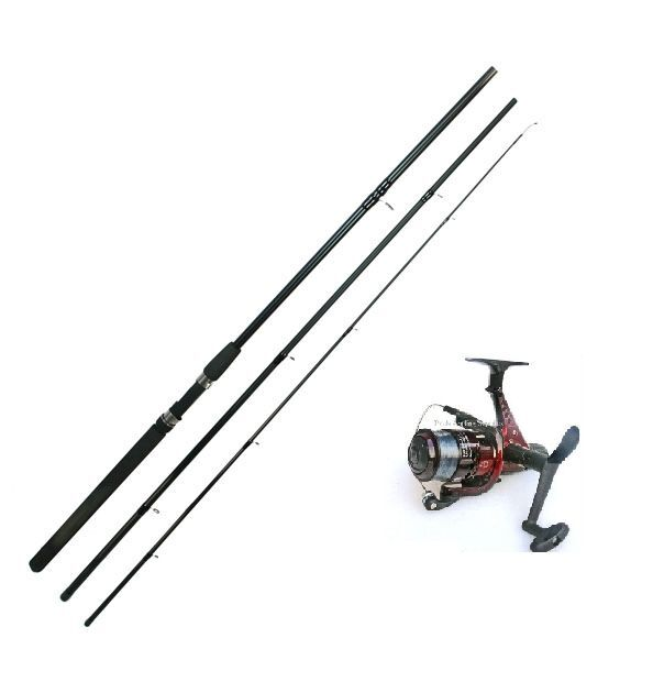 New 12ft float fishing rod and reel with line ebay for Float fishing rods