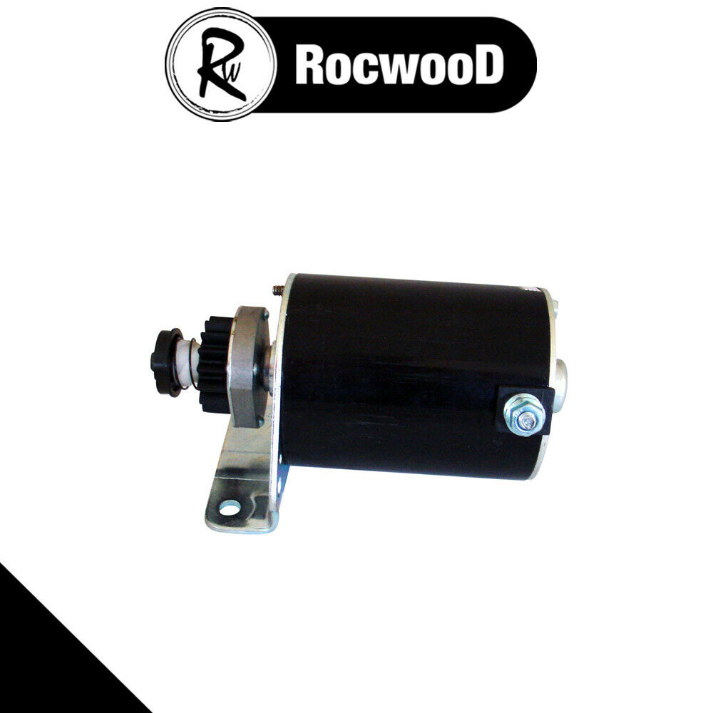 Electric Starter Motor Fits Some Briggs Stratton Engines