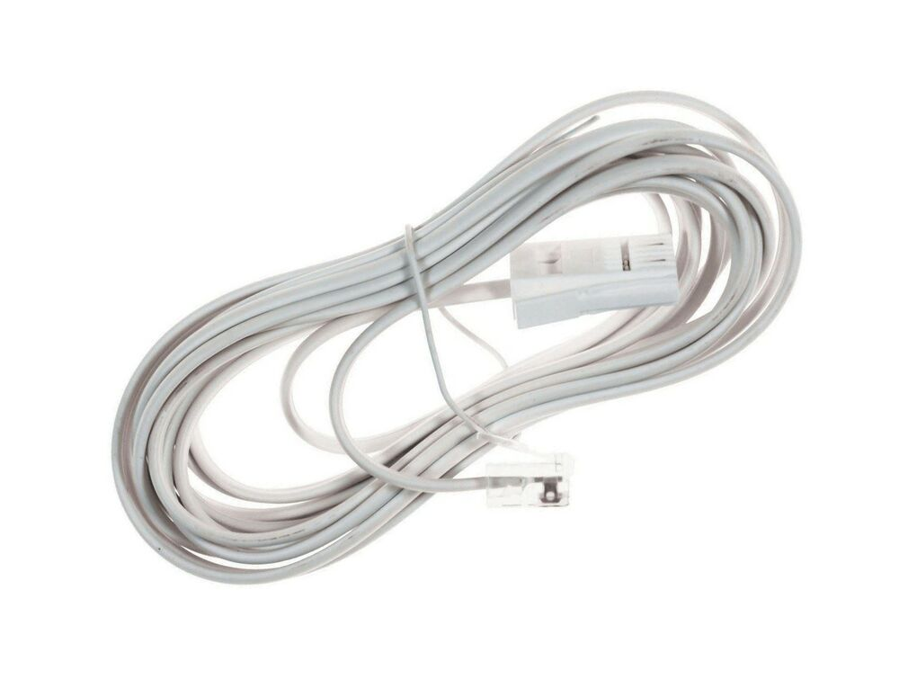Cable Rj11. rj45 to rj11 patch cables telephone adsl extensions ...