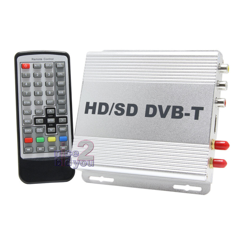 in car dvb t freeview digital tv tuner hdmi receiver box 2. Black Bedroom Furniture Sets. Home Design Ideas