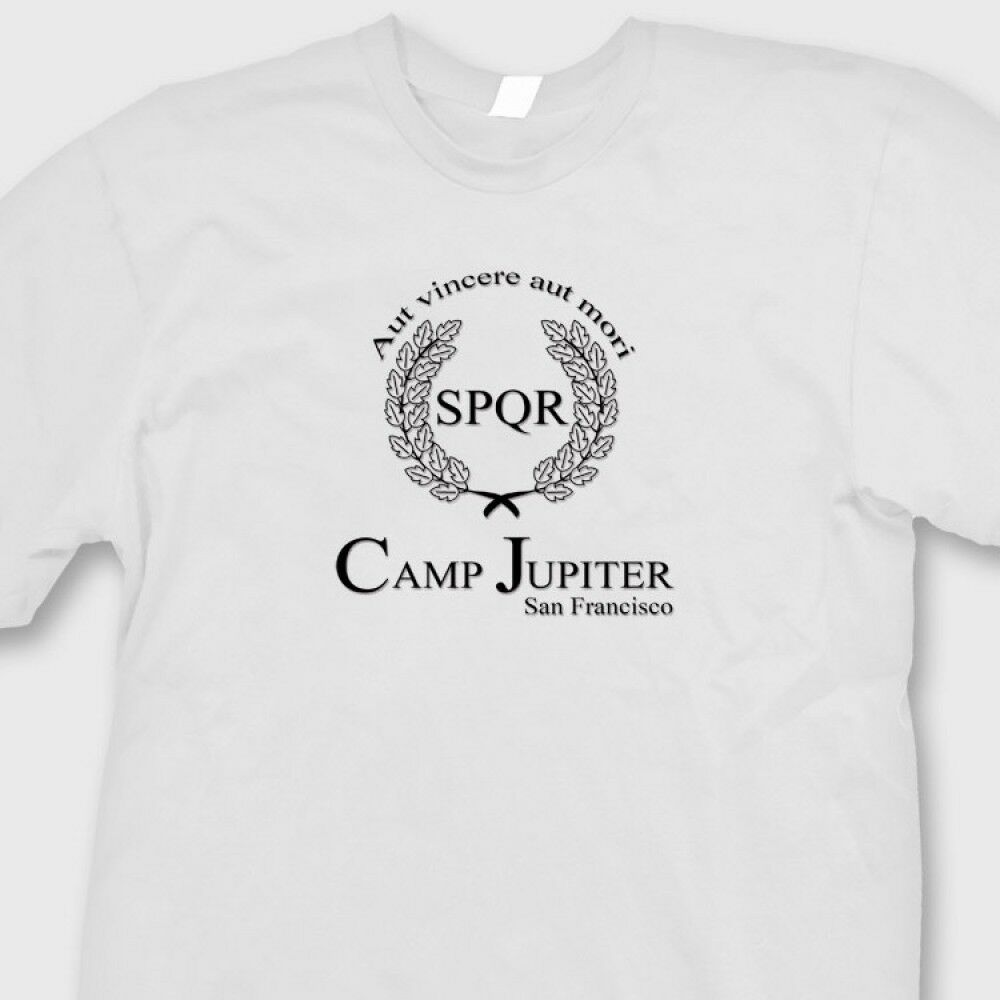 CAMP JUPITER Camp Half Blood T-shirt Percy Jackson Movie ... Camp Jupiter Shirt Percy Jackson