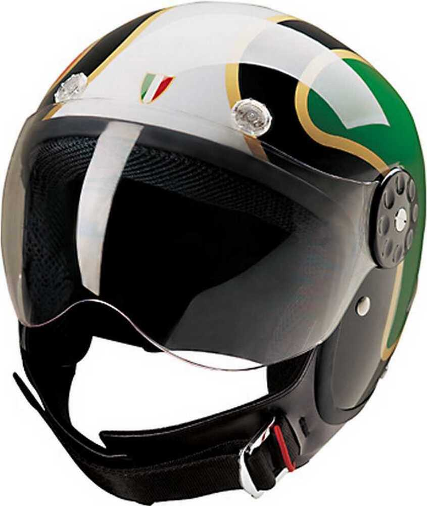 italian flag helmet open face hci helmets motorcycle fiberglass scooter amazon gold gekgo these