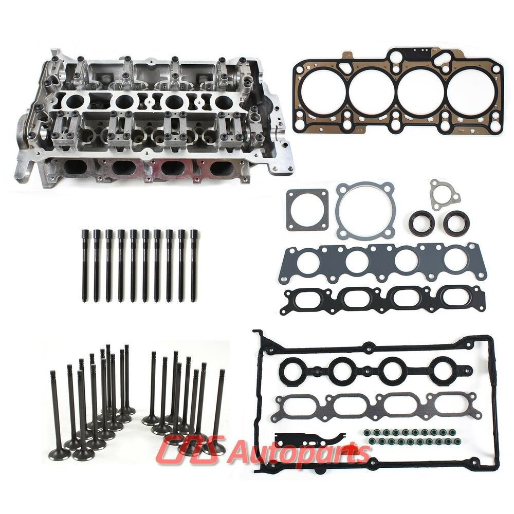 98-05 VW AUDI 1.8T Turbo 20V Bare Cylinder Head, Gasket Set, Bolts, &  Valves Kit | eBay