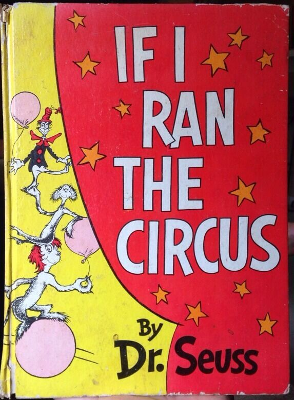 If I Ran The Circus By Dr Seuss, First Edition 9780394800806  Ebay-7823