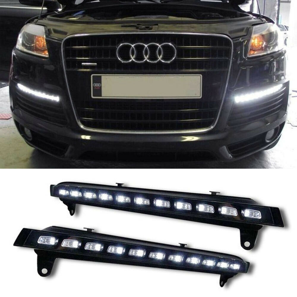 for 2007 2009 audi q7 22 led direct fit led daytime. Black Bedroom Furniture Sets. Home Design Ideas