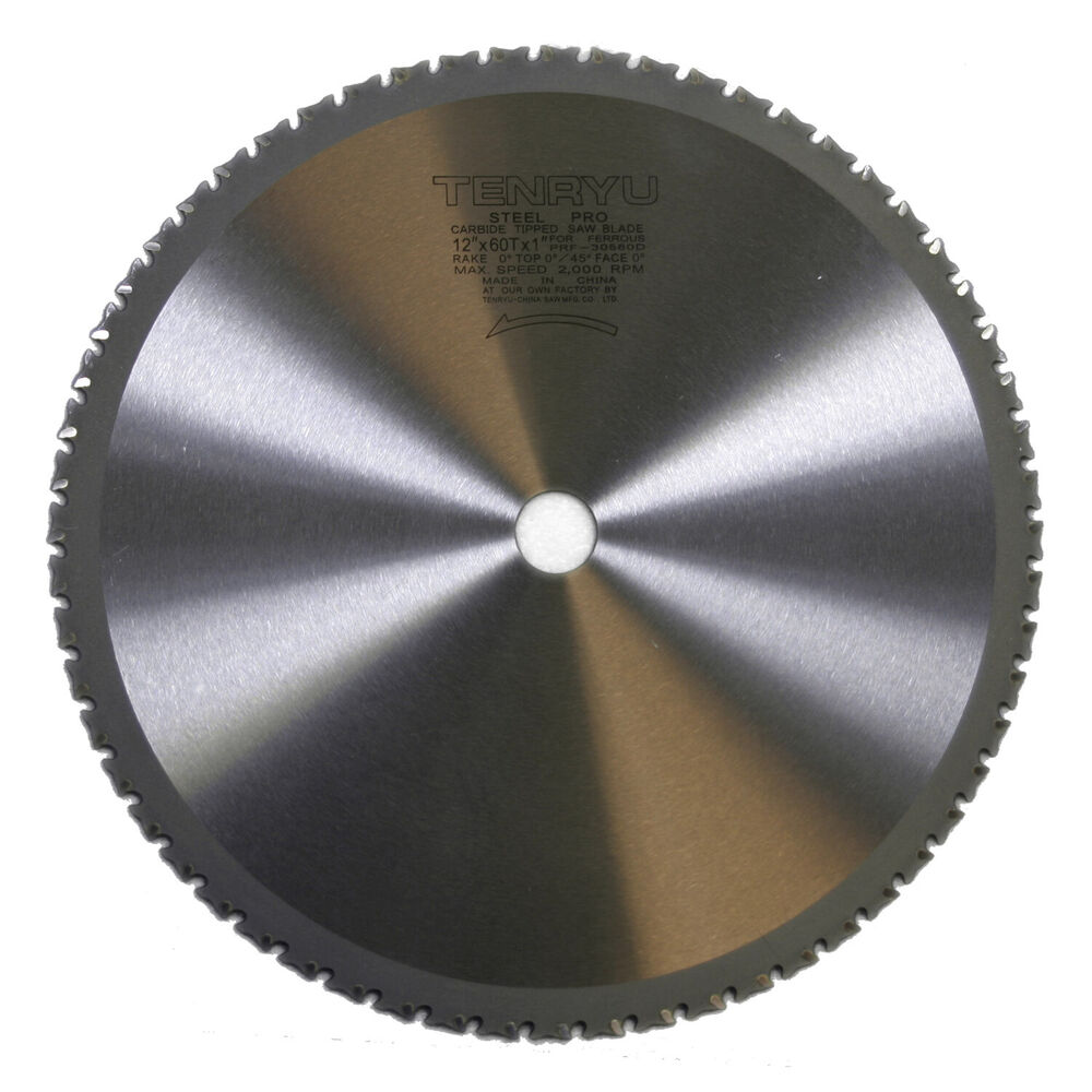 Tenryu Prf 30560d 12 Inch Carbide Tipped Table Miter Saw Blade Ebay