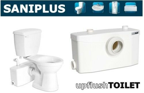 Saniflo Saniplus Macerating Upflush Toilet Kit Pump