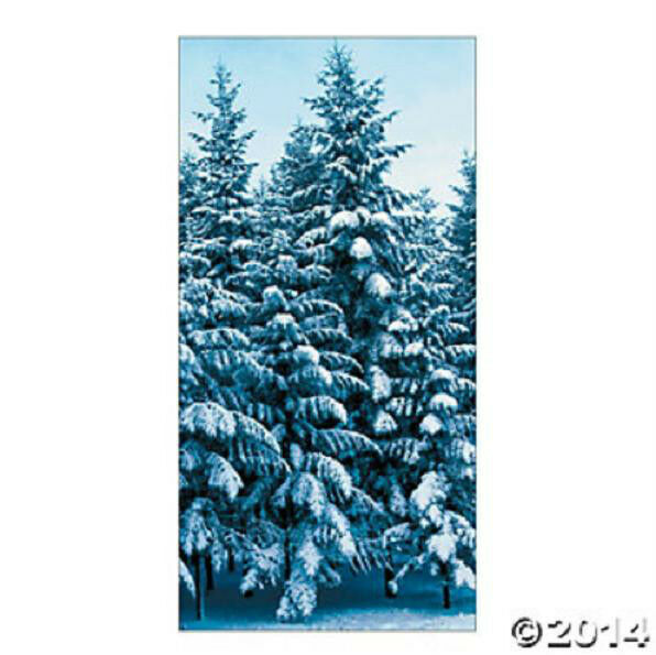 Christmas Or Frozen Themed Party Decoration Wall Door