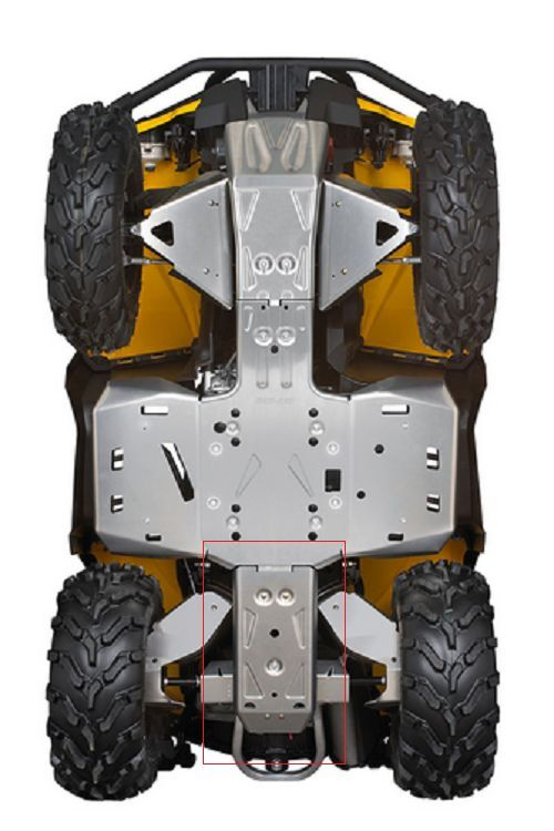Can Am Parts >> CAN-AM OUTLANDER REAR SKID PLATE 715002028   eBay
