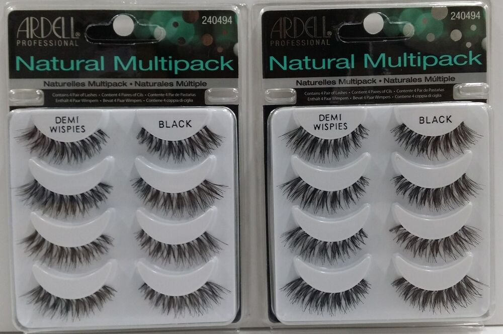 1bbbfa47761 ... Ardell Demi Wispies: Ardell DEMI WISPIES MULTI 2PACK (8 Pairs) False  Eyelashes