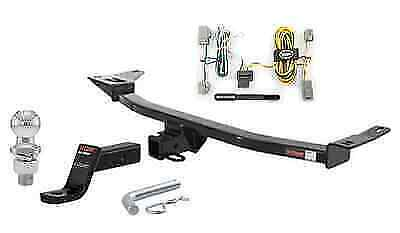 curt class 3 trailer hitch tow package for ford five hundred  freestyle