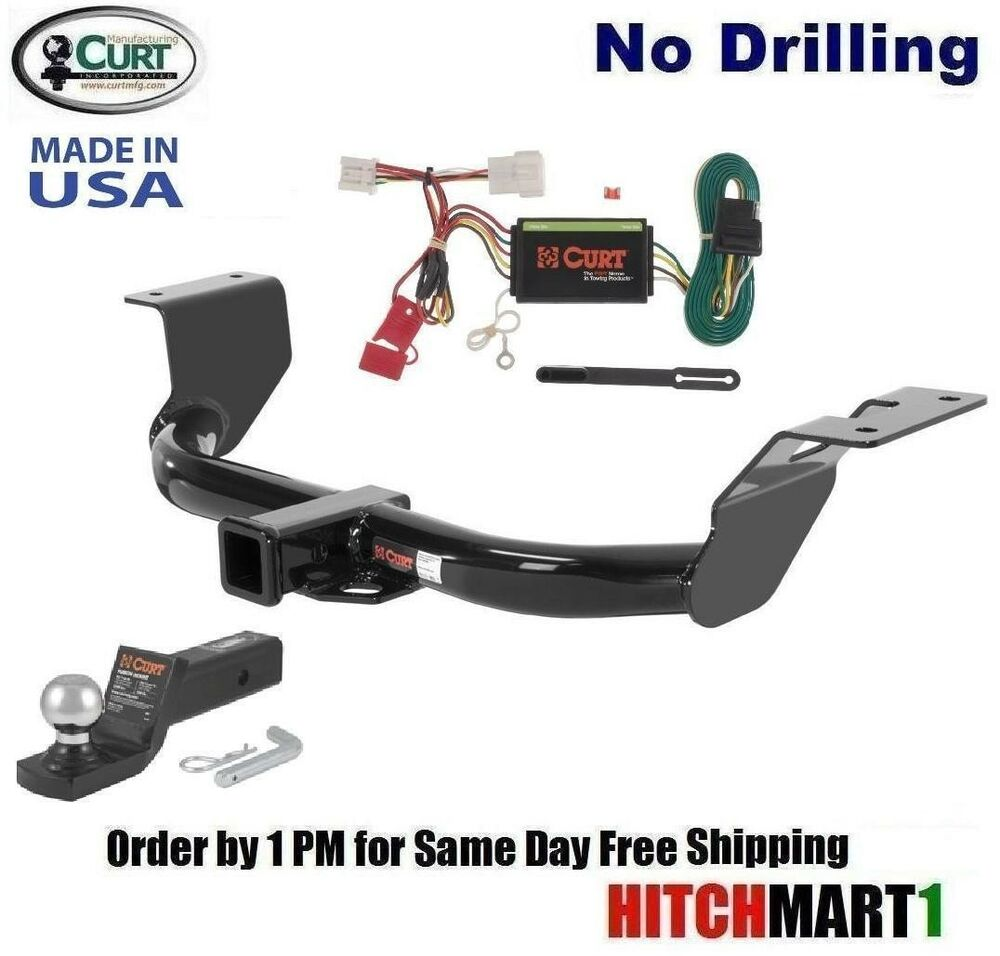 Curt Trailer Hitch Package For 2012