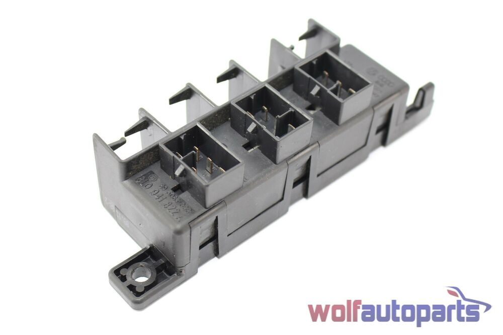 Audi allroad a c relay fuse block panel