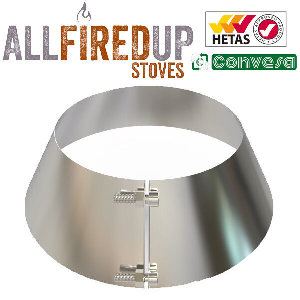Convesa 5 Quot Or 6 Quot Storm Collar For Twin Wall Insulated Flue