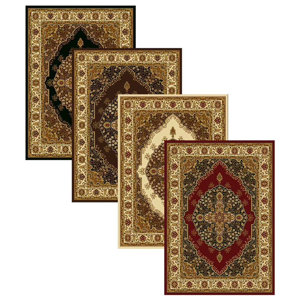 10 By 10 Area Rugs: Medallion Area Rug 8x11 Oriental Border Persian Carpet