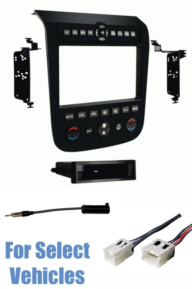 black car stereo radio install dash kit wire harness ant for 03 07 nissan murano ebay