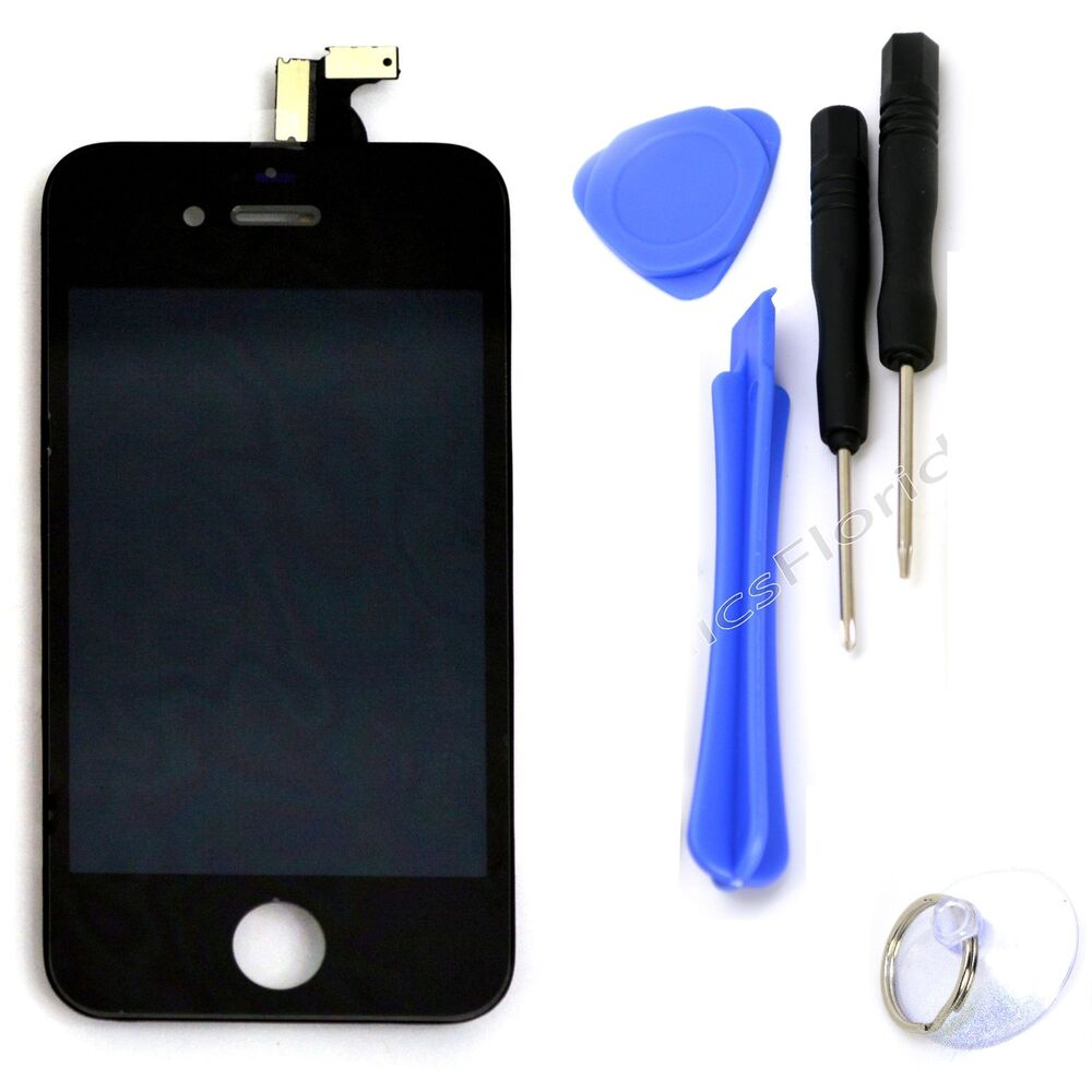 replace iphone 4 screen lcd digitizer glass black touch screen replacement 15987