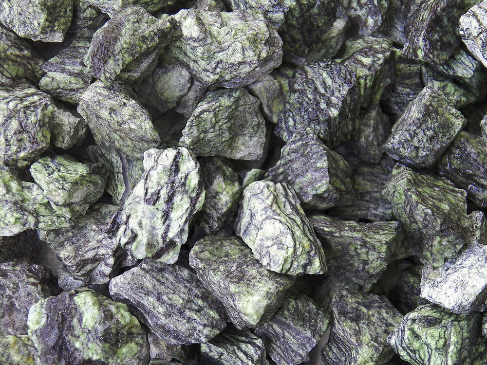 Polished Serpentinite