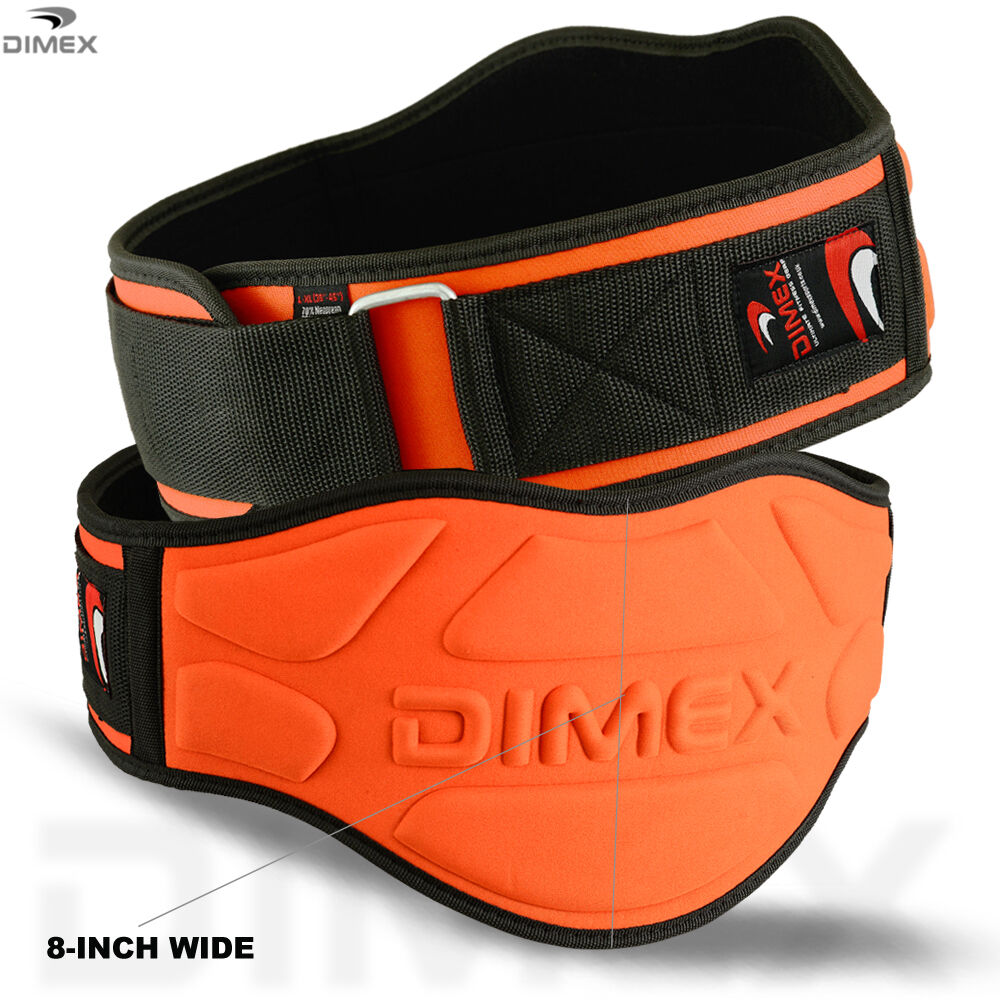 """Fitness Lifting Belt: Weight Lifting Belts Fitness Gym Workout Neoprene 8"""" Wide"""