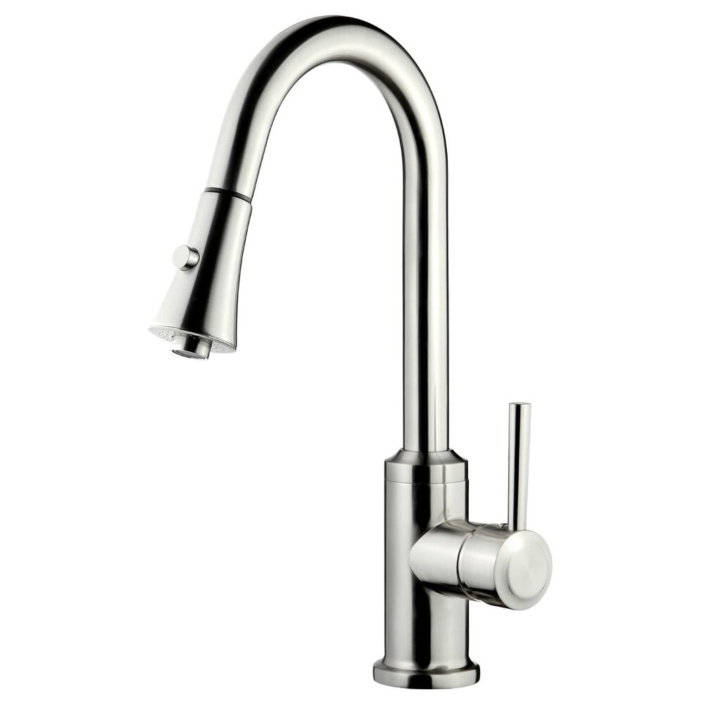 Kitchen Faucets 8 Inches Spread Or Single Hole