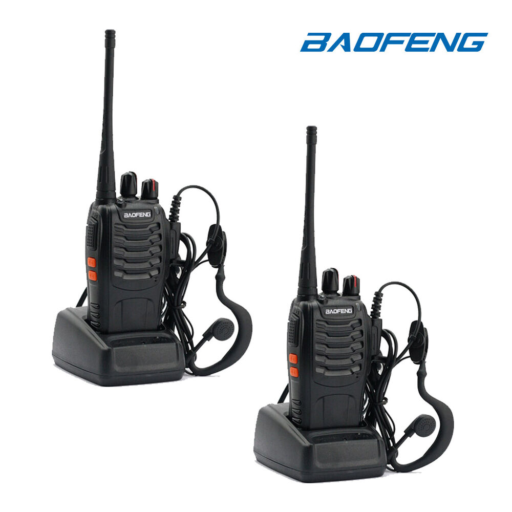 baofeng walkie talkie how to use
