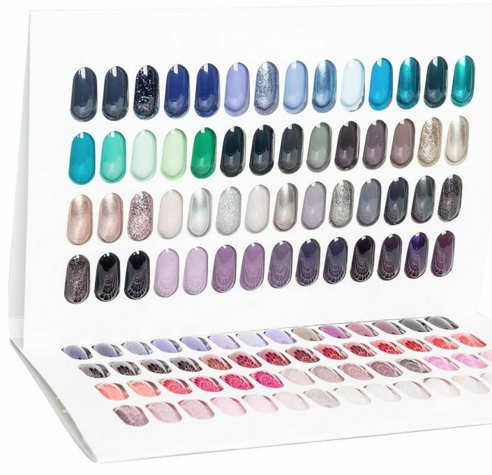 Gelish Color Book Tip Palette Book To Display 112 Colors New Limited Qty Sale 812803019673 Ebay