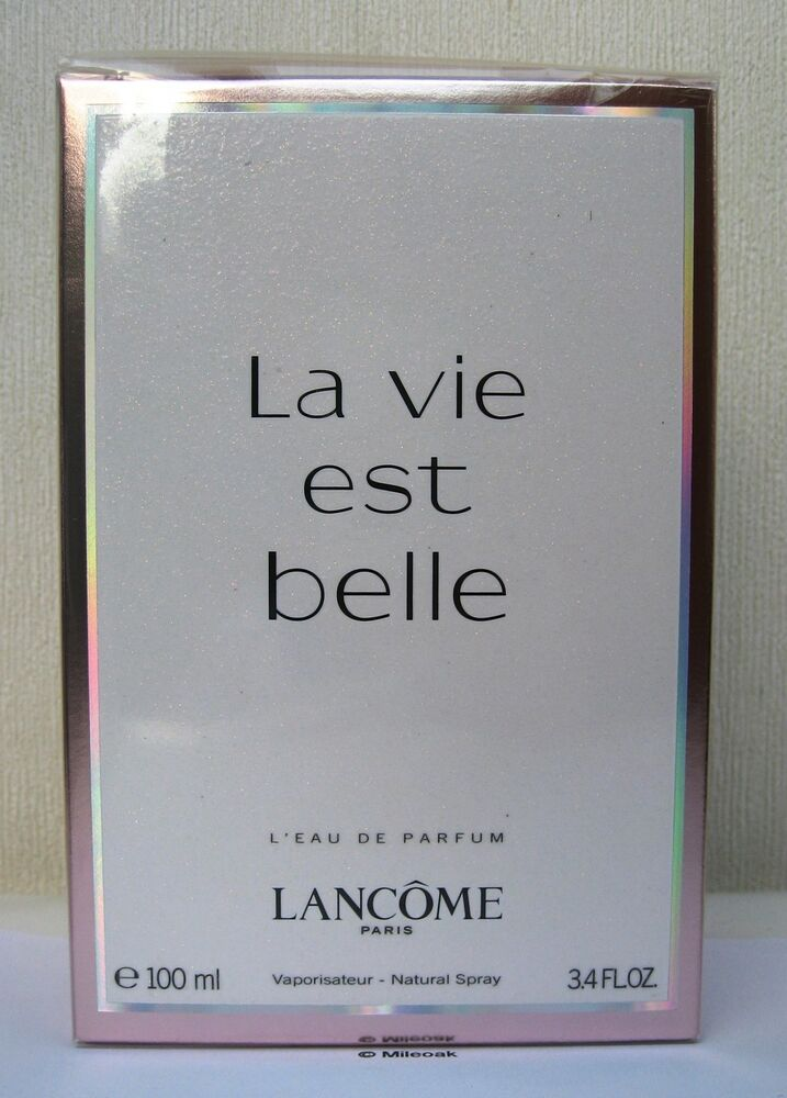 lancome la vie est belle 100ml eau de parfum spray new. Black Bedroom Furniture Sets. Home Design Ideas